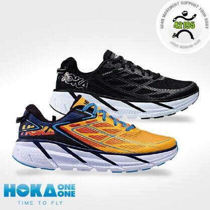 HOKA ONE ONE CLIFTON 3 男子公路跑步鞋 1012046
