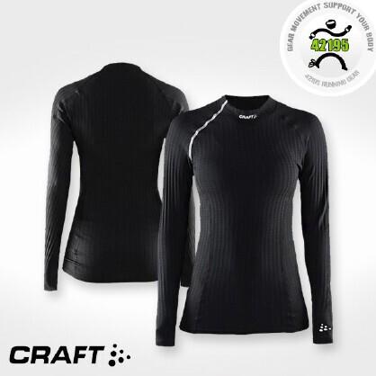 CRAFT 绿标贴身层 女子马拉松越野跑步圆领长袖上衣 1903408