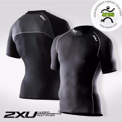 2XU Elite 男子精英压缩短袖MA1929a