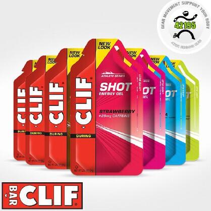 CLIF SHOT GEL 马拉松 越野 耐力跑 能量胶