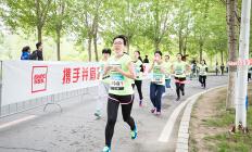 2017 new balance 中国大学生校园路跑接力赛长春站
